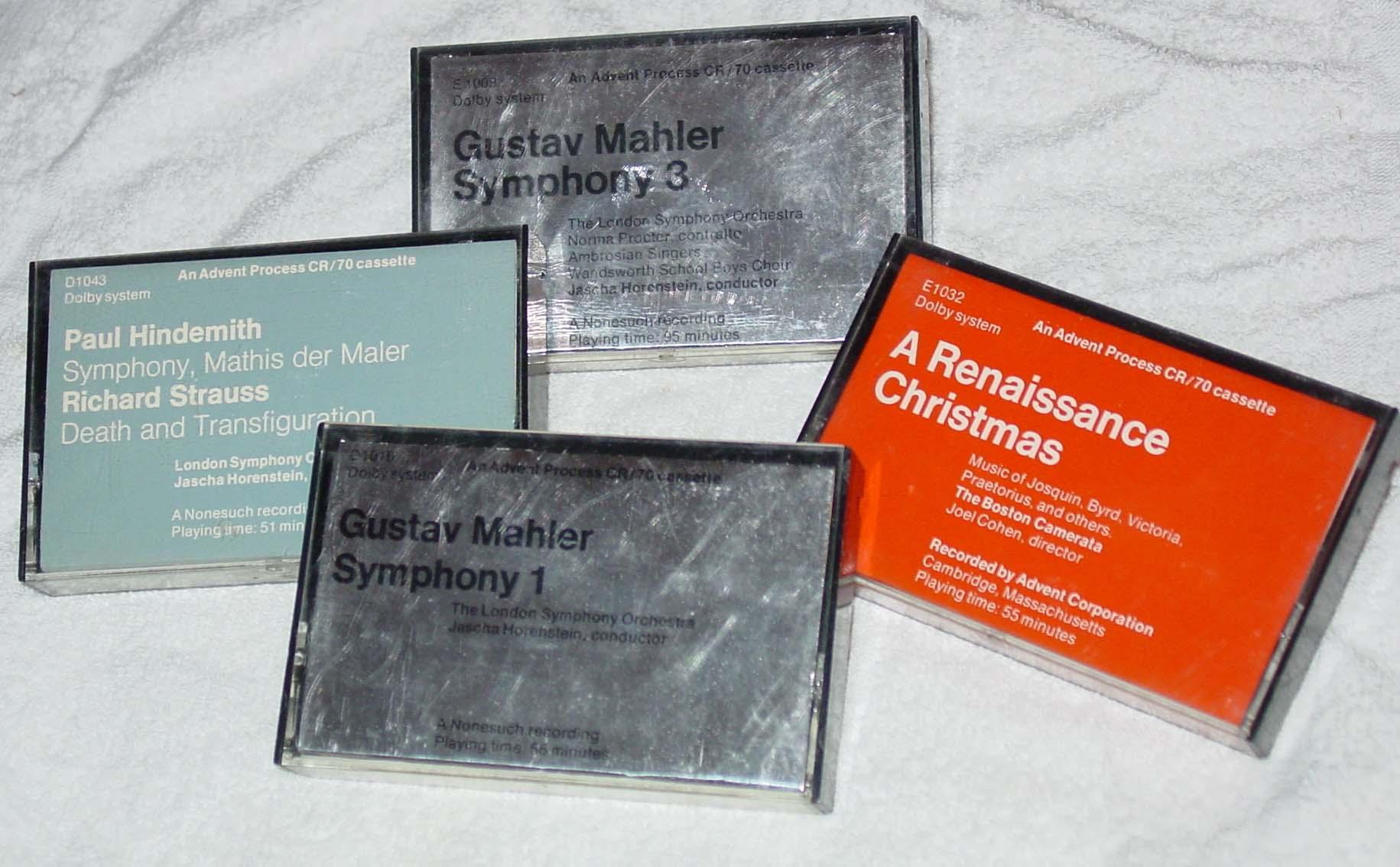 Advent CR80 cassettes