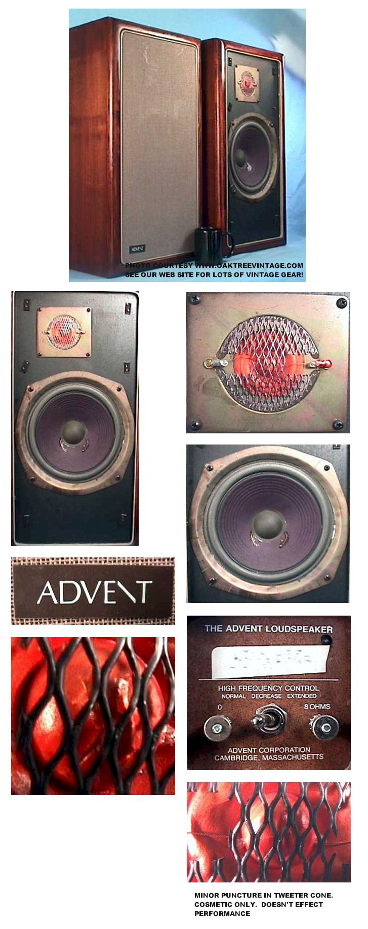 Advent speaker collage