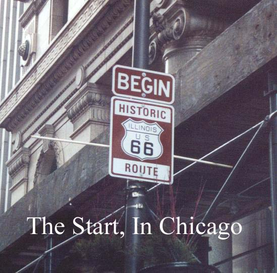 Route 66 beginning